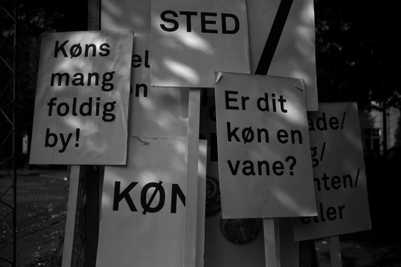Oplæsning af historier fra Kønsløse DK