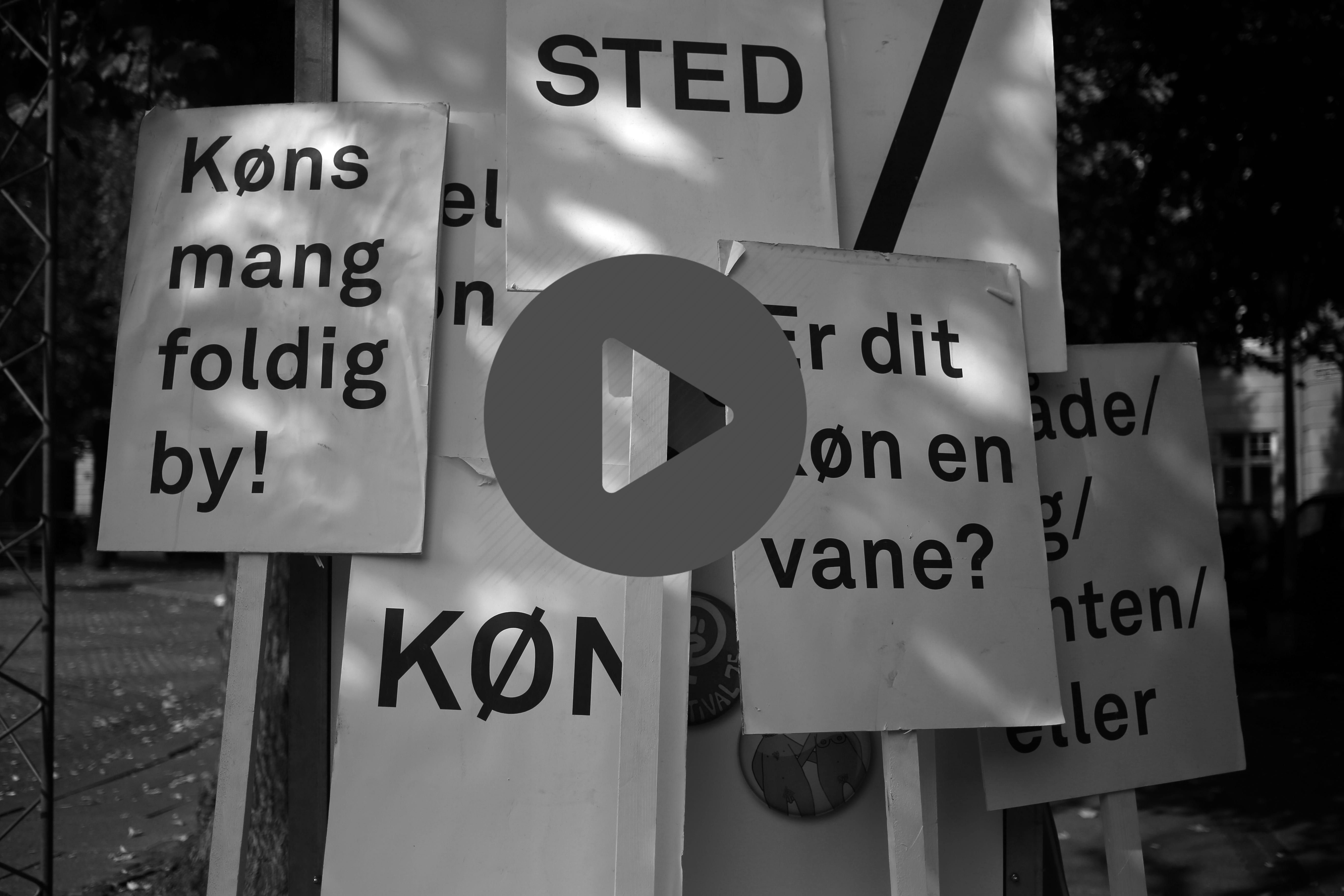 STEMNINGER FRA KØNLØSE DK – GADEPERFORMANCE 2017